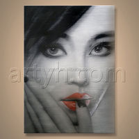 Wholesales Painting Handmade Woman Hot Sex Images Art