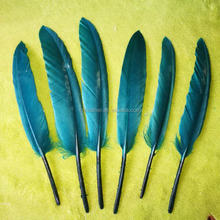 Wholesale 4-6inch colorful goose feather quill pens for craft decoration