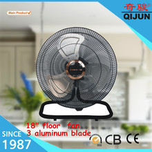 18 inch low power consumption table fan/floor standing fan coil unit