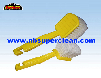 Plastic car cleaning wheel brush,tyre brush