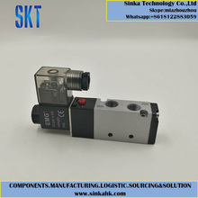 china factory DC24V 5 Way Inner guide terminal type directional 4V210 Solenoid Valve