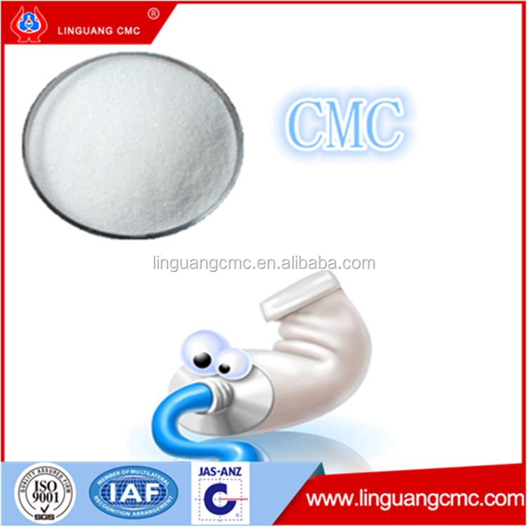 whole seller sodium cmc / cmc toothpaste grade
