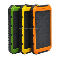 5000 - 10000mah mobile phone solar panel power bank charger