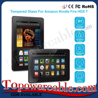 Wholesale Explosion Proof Anti Glare Tempered Glass Screen Protector For Amazon kindle fire HDX 7