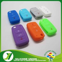 Silicone Car Key Cover For Colorful Key Fob Silicone Holder Replacement Case