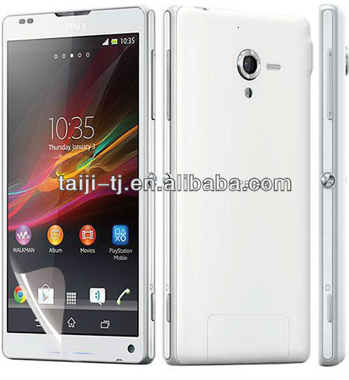 mirror screen guard for sony-xperia-zl, hard coat is 4H, anti scratch