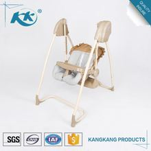Superior qualty best price electric cradle high chair baby swings cradle chair