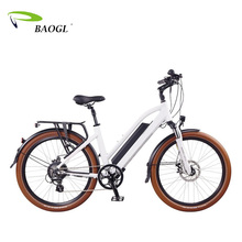 Trendy city electric bike with battery hidden in frame motor bicicleta eletrica