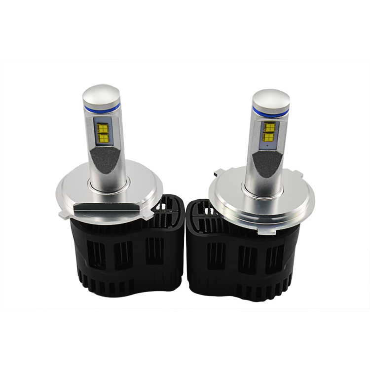 High power and canbus P6 led headlight bulb 55w 5200lm H7 led headlight kit