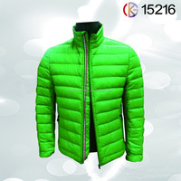Down Feather Filling Material and Jackets Style mens jacket