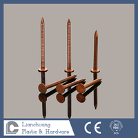 Copper Ring Shank / Four Hollow Shank/ Smooth shank Clout Nail