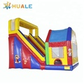 China manufacturer PVC inflatable bouncer slide combo