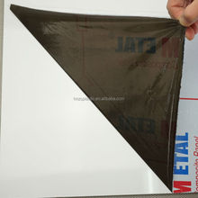 Low adhesion PE/plastic protective film for mirror glass