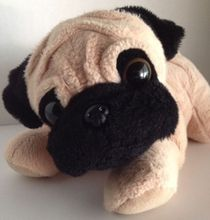 "PUG Puppy Dog 12"" Stuffed Puppy"