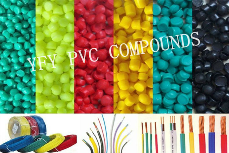 high gloss pvc granules for video cable