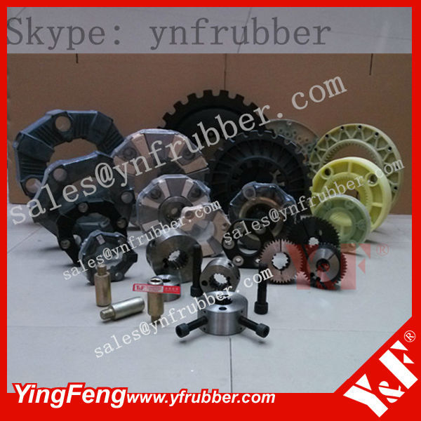 JCB Excavator JS200 JS220 Engine drive rubber coupling Hydraulic motor power transmission coupling