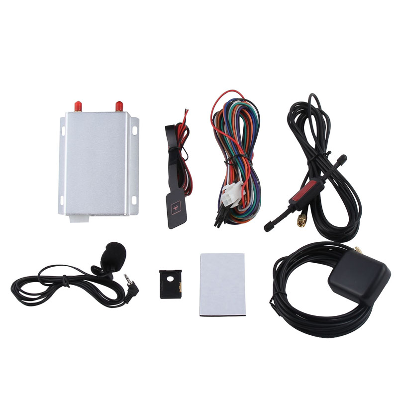 Multifunctional vehicle car truck gps tracker with Fuel sensor rfid reader microphone speaker camera etc.