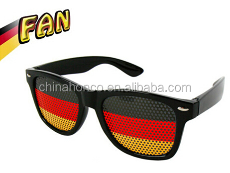 German football fans glasses fan party sunglass