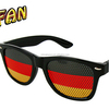 German Football Fans Glasses Fan Party