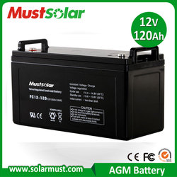 Hot Sale 12V 120Ah UPS Battery for Solar Energy Storage