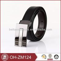 Great trend contemporary auto lock no hole belt made in CN