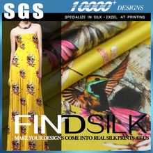 Hellosilk manufacturing brand new cheap spun silk rib supplier