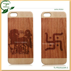For iphone, for iphone 4s case, for iphone casing wood+Hard PC back cover functional