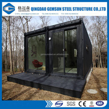 Kiosk,Booth Use and Container Material prefab office container