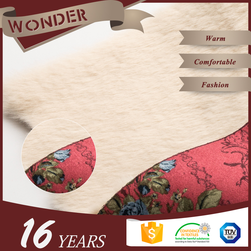 Fabric Textiles 100% Polyester Suede Lether