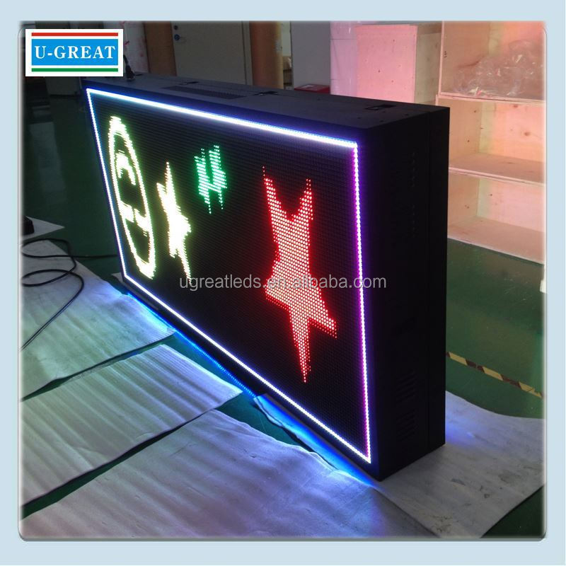 New inventions in china HD outdoor advertising led safety signs