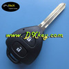 2 Buttton Car Keys With 433Mhz