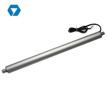 Tubular electric putter actuator small home skylight linear actuator 24v DC motor for electric door, valve, chicken door