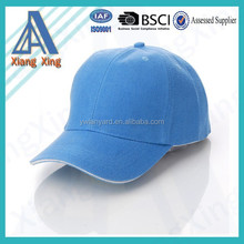 Fashion custom baseball cap without logo/100% cotton sport cap