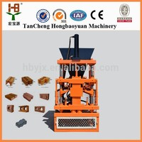 HBY1-10 Clay Brick Making Machine Type , Brick Production Line Processing, brick making machine