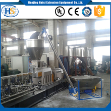 Automatic hopper feeding machinery master batch pellets screw force feeder for plastic extruder machine