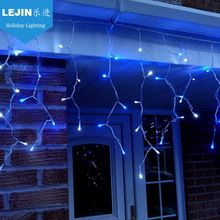 Easter Day blue led icicle christmas lights reviews Outdoor decoration wedding decoration