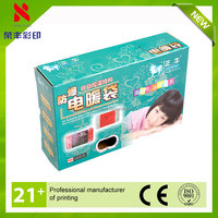 China supplier cheap price flat packed christmas gift boxes
