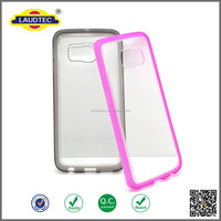 Tpu +PC Bumper Clear Back Cover For samsung galaxy s6
