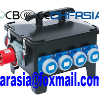 Mobile Electric Power Plug Socket Box