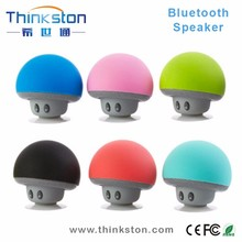 mini bluetooth speaker mushroom with microphone