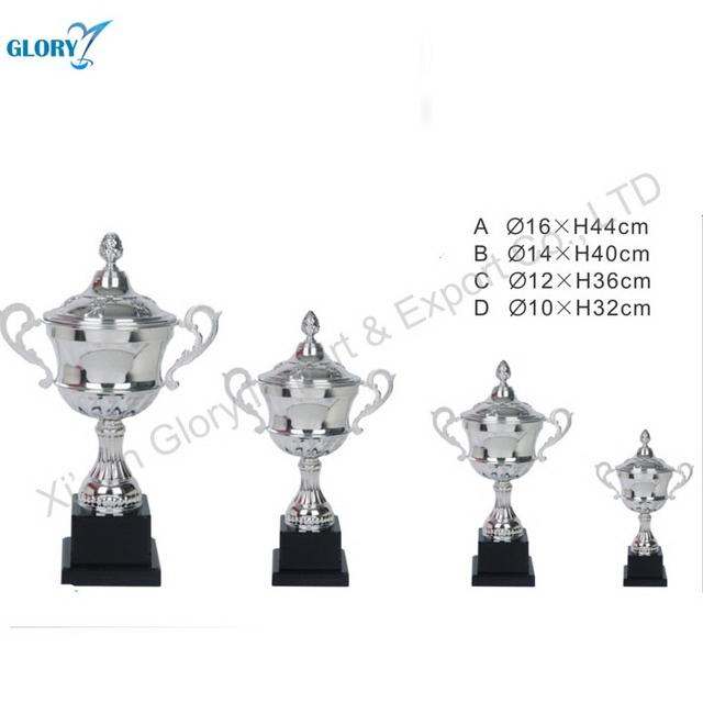 Modern Customized Gold Bowl Metal Awards Cup