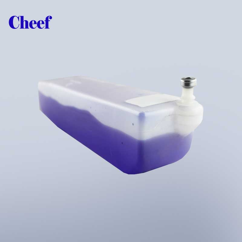 800ml cij ink inkjet purple printing ink A188 with RFID chips for markem imaje9028 printer