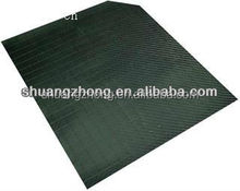 recycle black HDPE plastic slip sheet used as compact plastic pallet in China