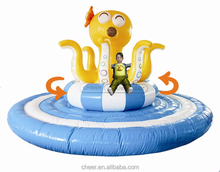 Cheer Amusement Automatic Revolving Inflatable Octopus Indoor Playground Equipment Large Spinning Inflatable Bouncy Animal