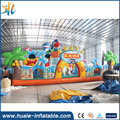 Fun City The underwater world inflatable bouncy castle with water slide /The underwater world inflatable jumping castle
