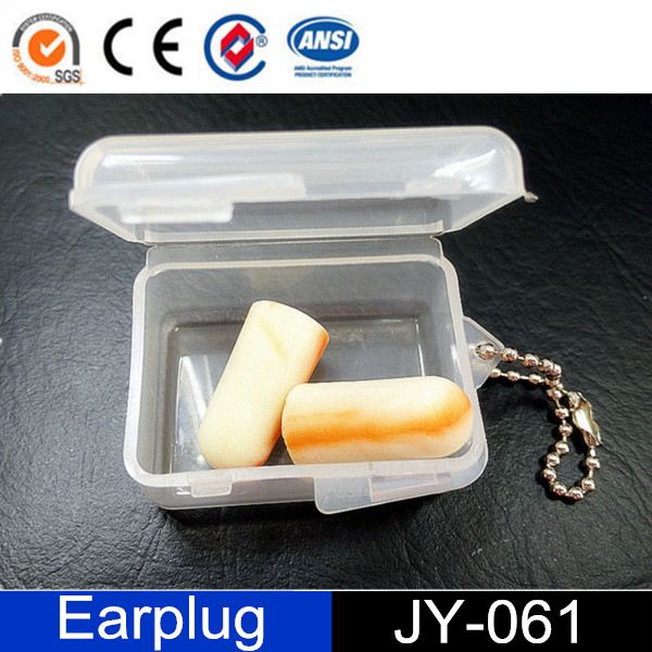 China Wholesale Custom PU FOAM Yellow Earplug Cases