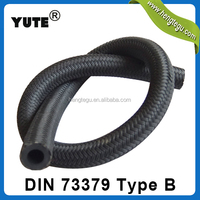 yute brand iso/ts 16949 gasoline diesel oil resistant flexible din 73379 fuel hose