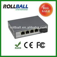 Serving nice price 10/100m 5 port poe switch