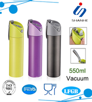 2016 new style Travel Stainless Steel Vacuum Bottle Thermos Flask Cool Sports Bottle
