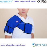 cold therapy pack and shoulder support